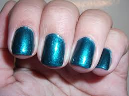 la metal metallic nail polish deep sea mica review polish