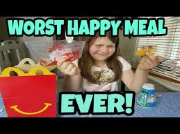 Happy Meal Meme - worst happy meal ever youtube