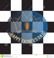 happy father s day chess crown king stock vector image 93778831
