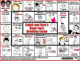Meme Board Game - remember the rage face drinking game i reved it 1584 1224