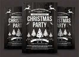 christmas flyer flyer templates creative market