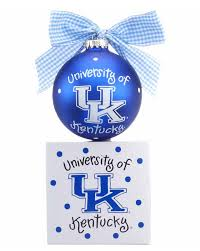 of kentucky logo personalized ornament