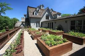 vegetable garden traditional landscape bridgeport by conte
