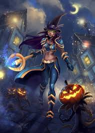 world of warcraft halloween background wow halloween 2015 by rinacane on deviantart