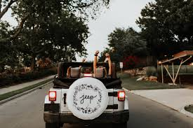 jeep white and black white jeep tire cover with floral design jeep accessory tire
