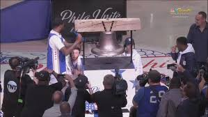 rings bell images Meek mill rings bell for sixers after prison release nbc 10 jpg