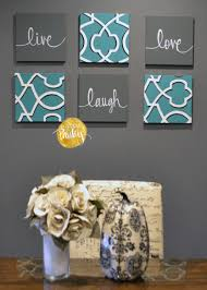 Live Laugh Love Home Decor by Teal And Gray Wall Decor Home Decor Wall Art Instant Download