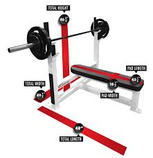 Who Invented The Bench Press Basic Olympic Flat Bench Press Legend Fitness 3105