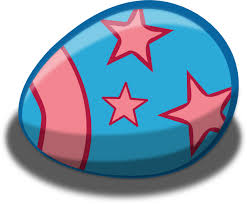 easter egg blue easter egg clip at clker vector clip online