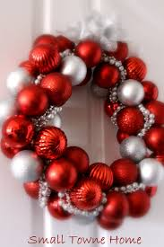 christmas bulb wreath my dream wedding pinterest wreaths