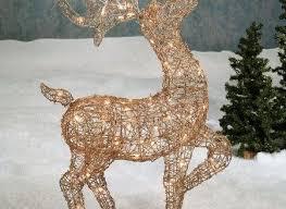 Reindeer Yard Decorations Christmas Chritsmas Decor