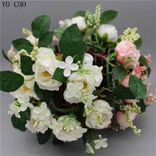 Flower Decoration For Home by Online Get Cheap Home Decoration Artificial Flower Rose Door