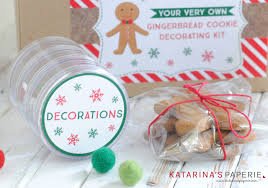 Christmas Cookie Decorating Kit Diy Gingerbread Cookie Decorating Kit Katarina U0027s Paperie