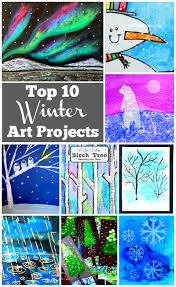 top 10 winter art projects rhythms of play