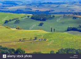 val d orcia orcia valley fields and farmhouses tuscany