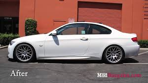 bmw 328i suspension 2008 e92 bmw 328i recieves st suspension coilovers at modbargains