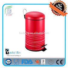 red garbage can ninestars automatic trash can best kitchen trash