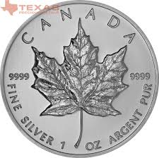 What Leaf Is On The Canadian Flag Canadian Maple Leaf Silver Coin Any Year Texas Precious Metals