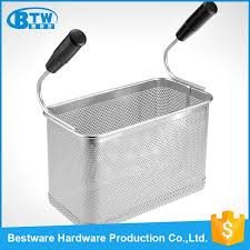pasta basket high quality stainless steel chips food presentation pasta cooker