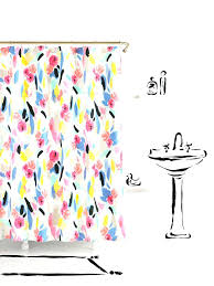 shower curtains coral colors echo shower curtain curtain wall