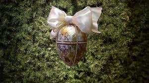 faberge u0027s surprise gatchina palace egg christmas ornament youtube