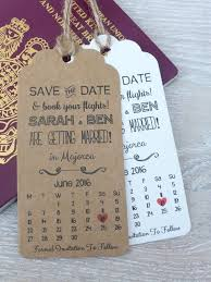 save the date wedding invitations mini personalised save the date wedding gift tag custom wedding