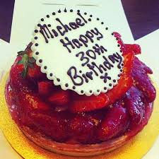 gorgeous fresh birthday cake picture of patisserie valerie