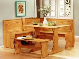 Kitchen Tables With Bench Seating Home Design - Kitchen table bench seating