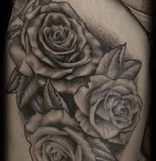 magical rose tattoo rose thigh tattoo on tattoochief com