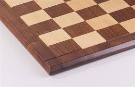21 hardwood player s chessboard with 2 25 squares jlp usa