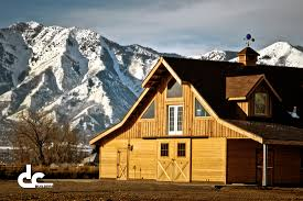 Shop With Loft Home Design Barns With Living Quarters Pole Barn Plans With