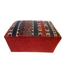 Made Ottoman by Vintage U0026 Used Boho Chic Ottomans And Footstools Chairish