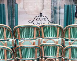 paris print cafe photo parisian home decor colorful print
