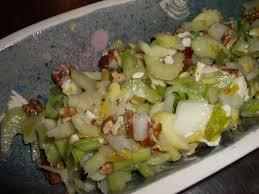 celery salad health benefits of celery and last minute celery salad recipe