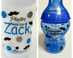 customized baby baby bottle etsy