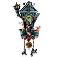 Goosebumps Cuckoo Clock Of Doom Clocks Gothic Style Cuckoo Clocks With Dancers In Black For Wall