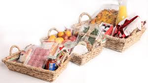 Food Gift Basket Ideas 3 Diy Fresh Food Gift Baskets Edible Gifts Youtube
