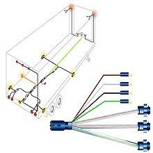 wiring diagram for a 7 way pin trailer connector on 40 new