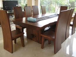 modern mid century solid u201cwood dining table u201d kitchen furniture