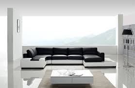 modern black and white leather sectional sofa inspiration idea black modern leather sofa and home t139 modern