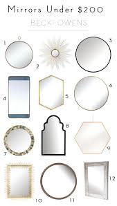 mirrors under 200 becki owens
