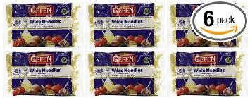 gefen noodles gefen cakes gefen wide noodles gluten free 9 ounce