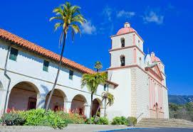mission santa barbara history buildings photos