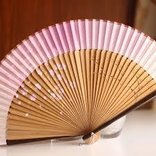 japanese folding fan silk hollow rib fan japanese folding fan pocket