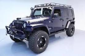 custom jeep wrangler unlimited for sale jeep wrangler unlimited rubicon ebay