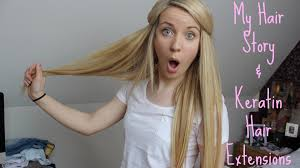 hairstyles for bonded extentions my hair story keratin hair extensions itssimplybeauty youtube