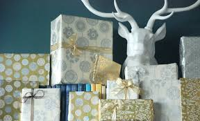 silver christmas wrapping paper gift wrap ideas for a festive touch