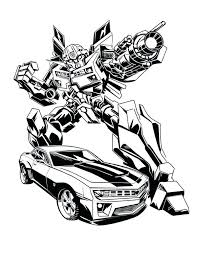 Transformers Coloring Pages World Of Craft Transformer Color Page