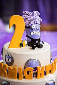 minion birthday cake ideas anaheim despicable me purple minion 2nd birthday party fashion