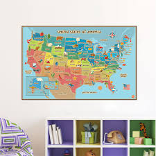 aliexpress com buy creative world map of american usa sign home